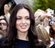Angelina Jolie Arkivbild