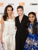 Angelina Jolie bij ` de Kostwinner` Première bij Internationaal de Filmfestival van Toronto stock foto