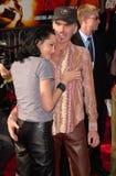 Angelina Jolie, Billy Bob Thornton fotografia stock