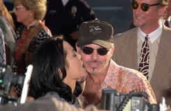 Angelina Jolie,Billy Bob Thornton Stock Photos