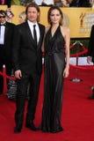 Angelina Jolie, Brad Pitt stockfotografie