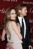 Angelina Jolie, Brad Pitt stock photography