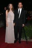 Angelina Jolie, Brad Pitt Stock Photos