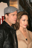 Angelina Jolie, Brad Pitt Stock Image