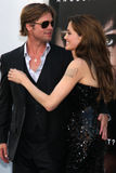 Angelina Jolie,Brad Pitt Stock Image