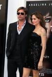 Angelina Jolie, Brad Pitt Στοκ Εικόνα