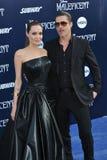 Angelina Jolie & Brad Pitt Στοκ εικόνα με δικαίωμα ελεύθερης χρήσης
