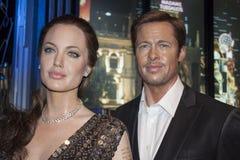Angelina Jolie & Brad Pitt Στοκ Φωτογραφίες