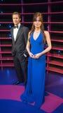 Angelina Jolie and Brad Pitt Stock Photography