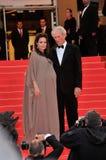 Angelina Jolie, Clint Eastwood Στοκ εικόνα με δικαίωμα ελεύθερης χρήσης