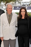 Angelina Jolie, Clint Eastwood Στοκ φωτογραφίες με δικαίωμα ελεύθερης χρήσης