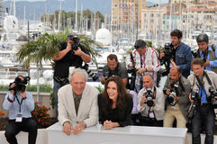 Angelina Jolie, Clint Eastwood Στοκ Εικόνα