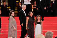 Angelina Jolie, Clint Eastwood, Dina Eastwood Στοκ Εικόνες