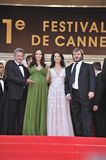 Angelina Jolie, Dustin Hoffman, Jack Black, Lucy Liu Stock Photography