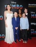 Angelina Jolie, Knox Leon Jolie-Pitt, Zahara Marley Jolie-Pitt, Vivienne Marcheline Jolie-Pitt and Shiloh Nouvel Jolie-Pitt stock photography