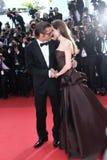 Angelina Jolie und Brad Pitt Lizenzfreies Stockbild