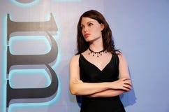 Angelina Jolie, wasstandbeeld, wascijfer, waxwork royalty-vrije stock fotografie