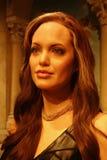 Angelina Jolie Wax Figure Stock Photography