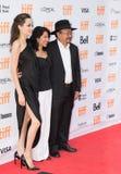 Angelina Jolie World Premiere do ` primeiramente mataram meu ` do pai no festival de cinema do International de Toronto foto de stock royalty free