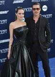 Angelina Jolie y Brad Pitt Foto de archivo libre de regalías