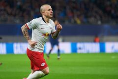 Free Angelino During The Match Leipzig Vs Tottenham At Leipzig Arena Royalty Free Stock Images - 189477069