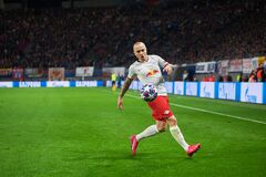 Free Angelino During The Match Leipzig Vs Tottenham At Leipzig Arena Royalty Free Stock Photography - 189477437