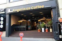 Angelinus coffee shop in Jeju Royalty Free Stock Photos