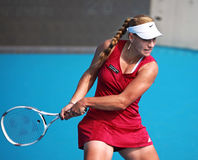 Angelique Kerber in action at the 2010 China Open stock images