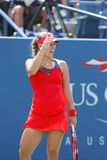 Angelique Kerber from Germany during  US Open 2013 second round match Stock Image