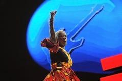 Angelique Kidjo - τραγουδιστής Στοκ Εικόνα