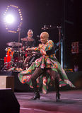 Angelique Kidjo performs live on 28th April Jazz Royalty Free Stock Photography