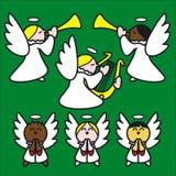angelitos πράσινα Στοκ Φωτογραφία