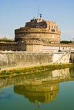 angello castello二sant的罗马 免版税库存照片