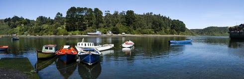 Angelmo Puerto Montt, Chile Royaltyfri Fotografi