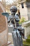 Angelo al cimitero Fotografia Stock Libera da Diritti
