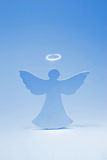 Angelo blu Immagine Stock Libera da Diritti
