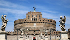Angelo castel Ιταλία Ρώμη sant Στοκ εικόνες με δικαίωμα ελεύθερης χρήσης