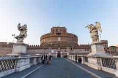 Angelo castel Ιταλία Ρώμη sant Στοκ Φωτογραφίες