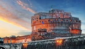 Angelo Castel - Ρώμη, Ιταλία Στοκ εικόνα με δικαίωμα ελεύθερης χρήσης