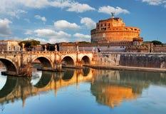 Angelo Castel - Ρώμη, Ιταλία Στοκ Εικόνες