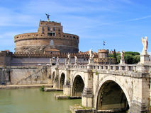 Angelo castel Ρώμη sant Στοκ Φωτογραφία
