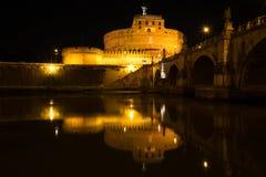 Angelo castel Ρώμη sant Στοκ Φωτογραφίες
