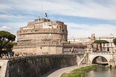Angelo castel Ρώμη sant Στοκ φωτογραφίες με δικαίωμα ελεύθερης χρήσης