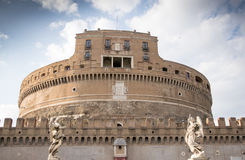 Angelo castel Ρώμη sant Στοκ φωτογραφία με δικαίωμα ελεύθερης χρήσης