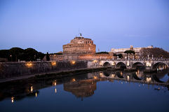 angelo castel Italy Rome sant Obrazy Royalty Free
