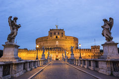 angelo castel italy sant rome Arkivbild