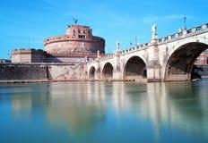 Angelo Castel - Rome, Italien Fotografering för Bildbyråer
