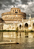 angelo castel Rome sant Obrazy Royalty Free
