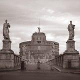 ` Angelo Castel Sant в Риме, Италии Стоковое фото RF
