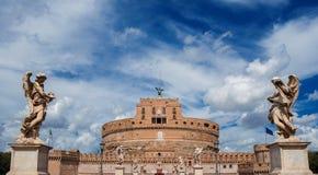 ` Angelo Castel Sant в Риме Стоковая Фотография RF